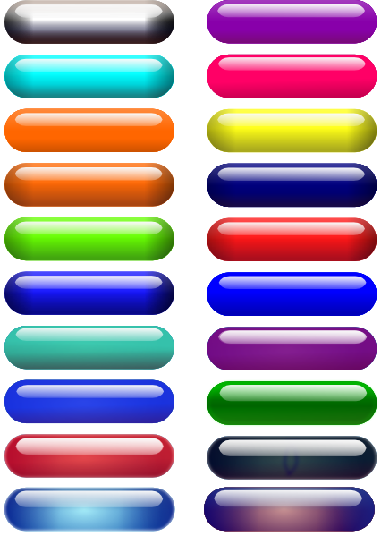 Glossy Pill Buttons svg