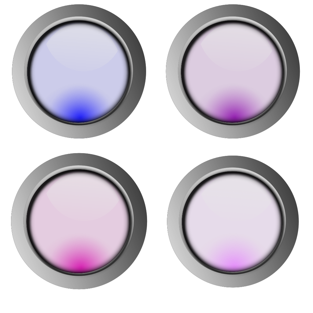 Round Buttons SVG Clip arts