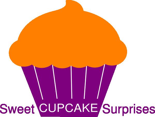 Polka Dot Cupcake SVG Clip arts