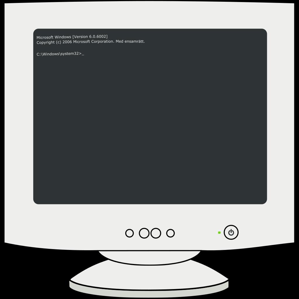 Computer Screen SVG Clip arts
