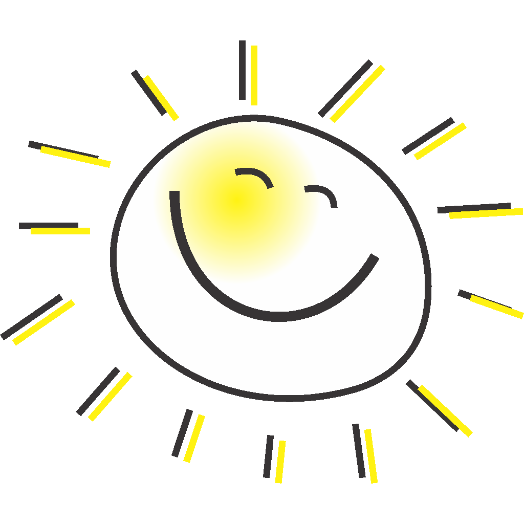 Cartoon Sun svg
