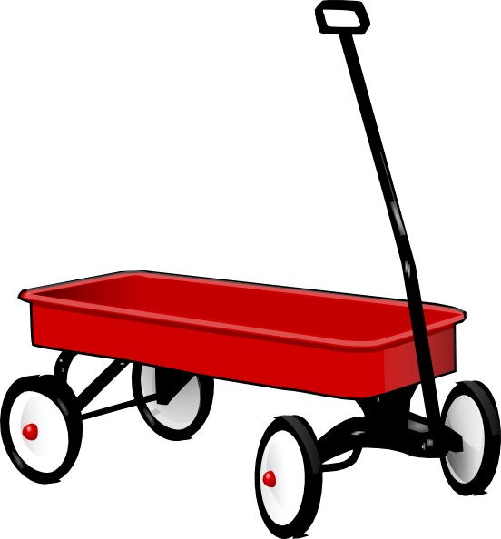 Toy Wagon SVG Clip arts