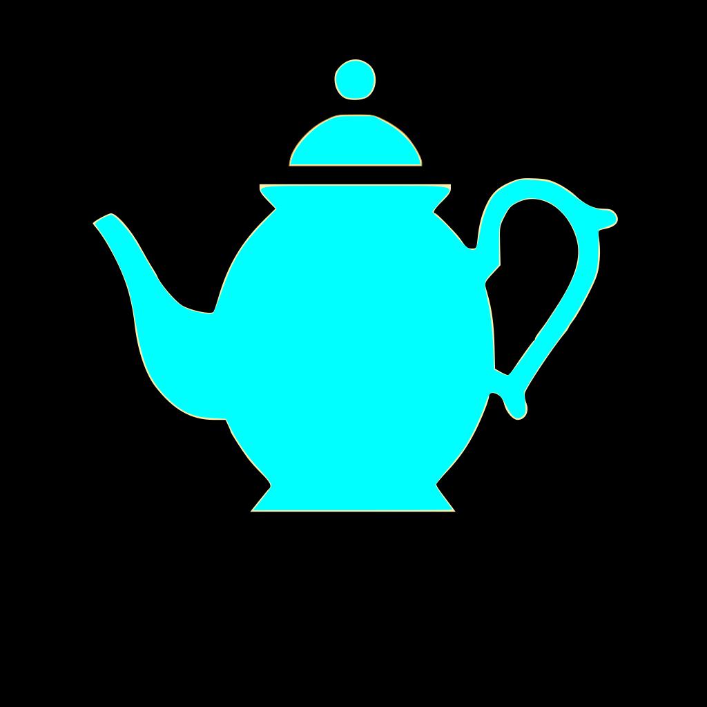 Teapot SVG Clip arts