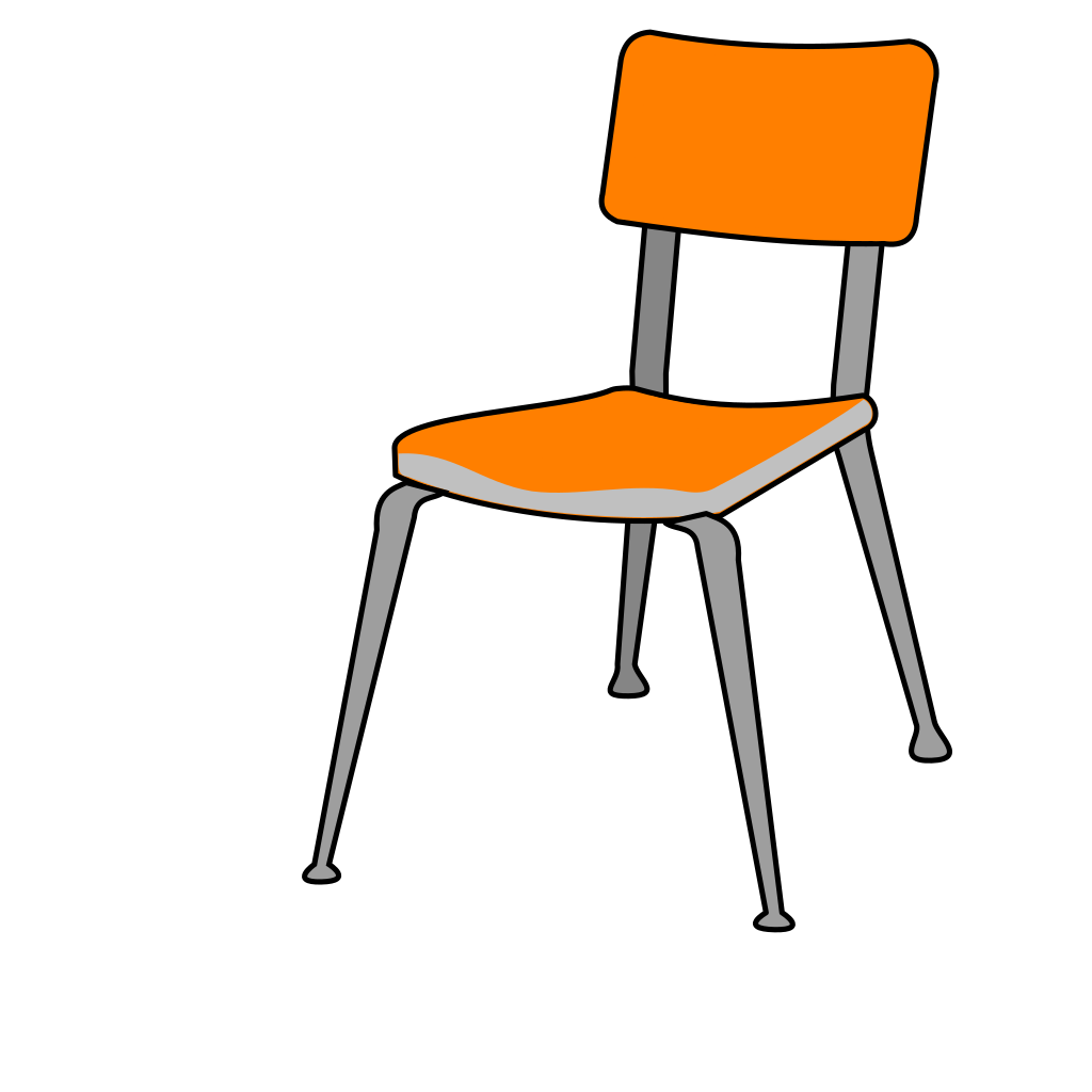 Student Chair SVG Clip arts