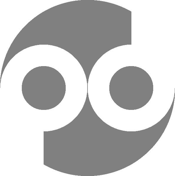 Public Domain Icon Blue SVG Clip arts