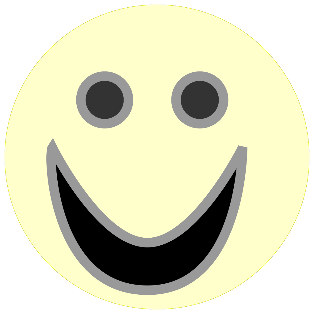 Smiley Face SVG Clip arts