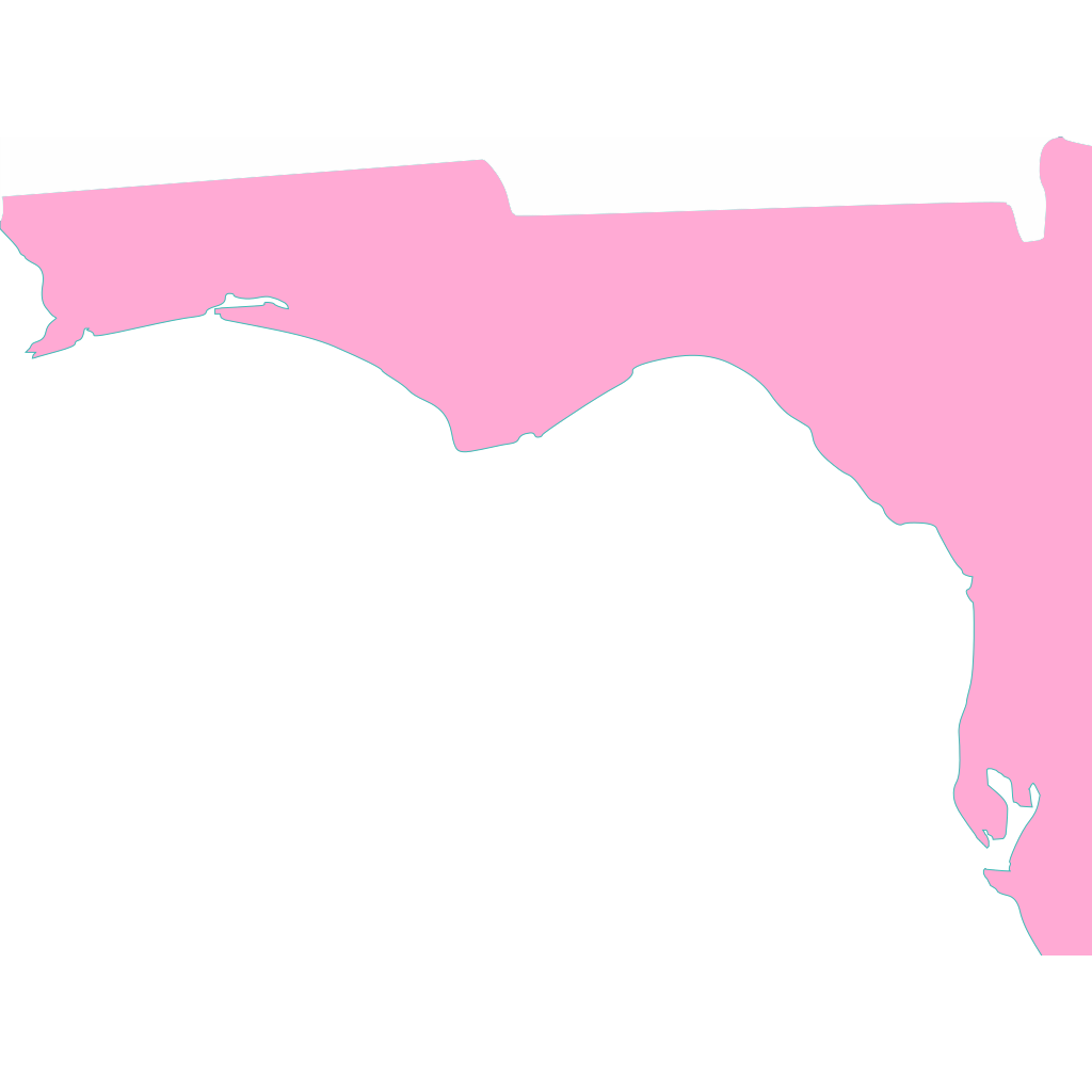 Blue Florida svg