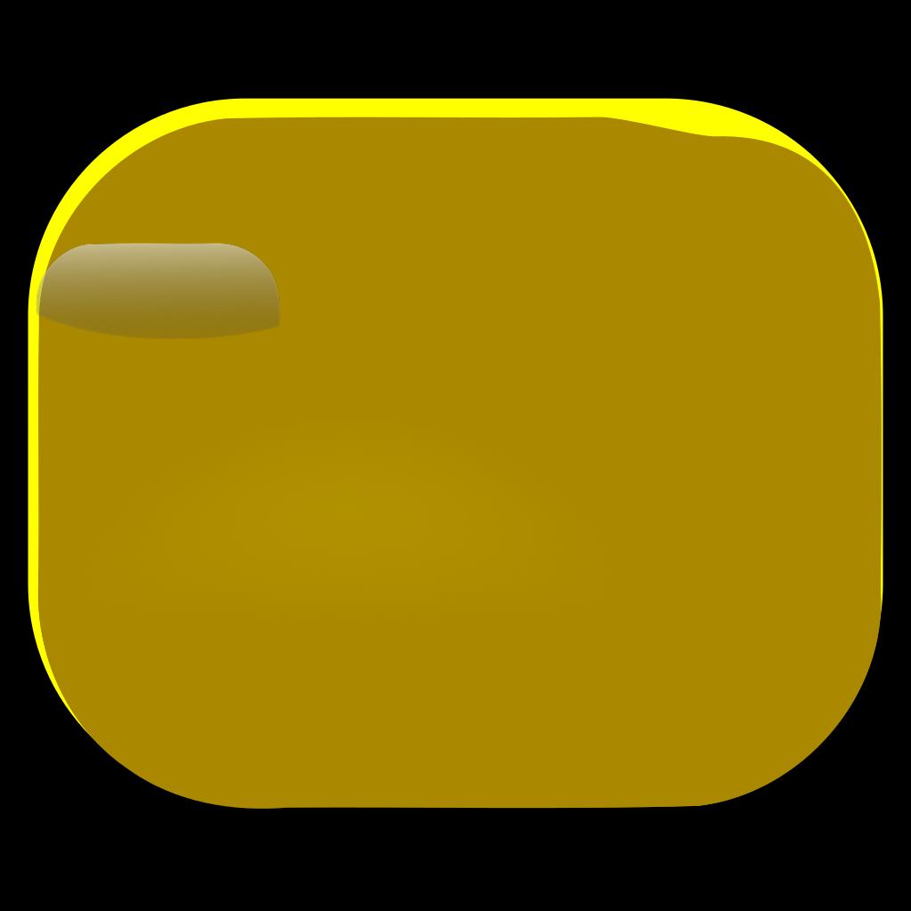 Gold Round Button SVG Clip arts