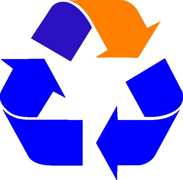 Recycling Box 3d SVG Clip arts