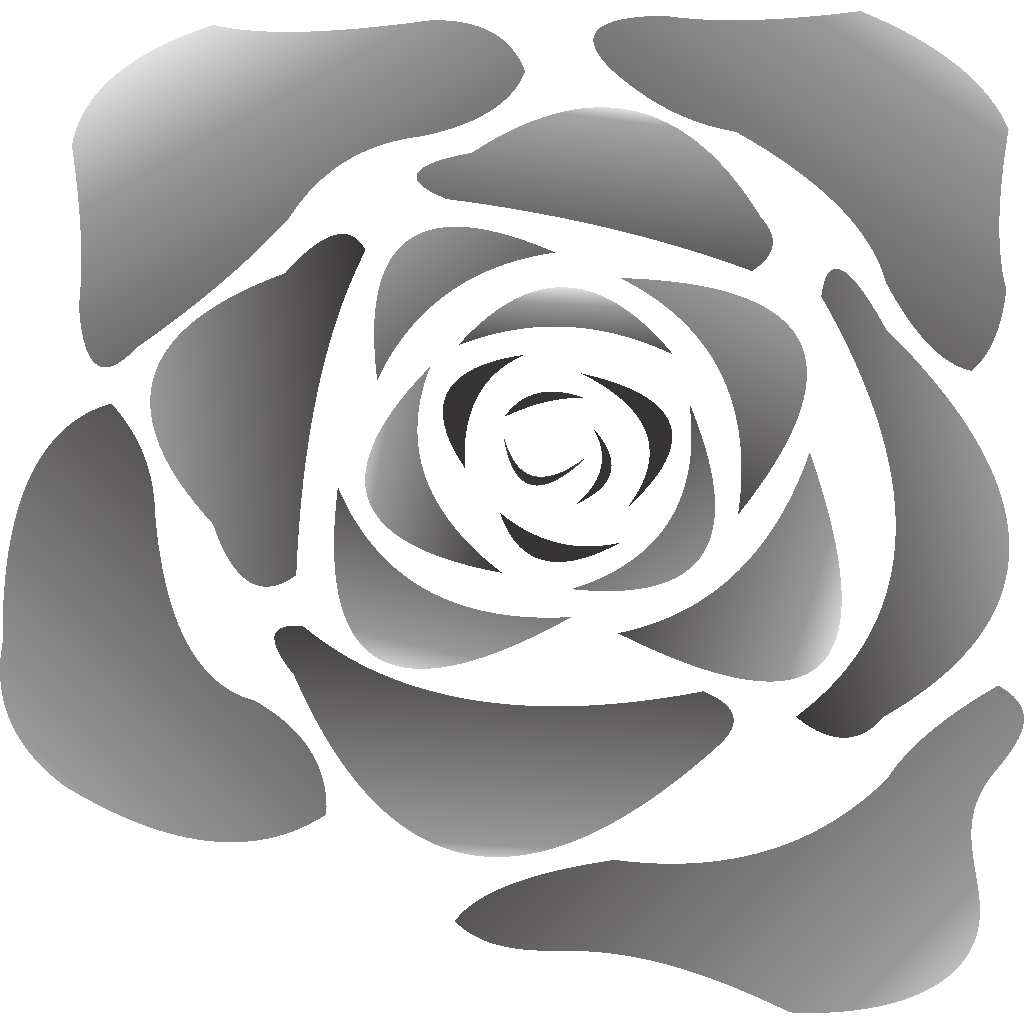 Black Rose SVG Clip arts