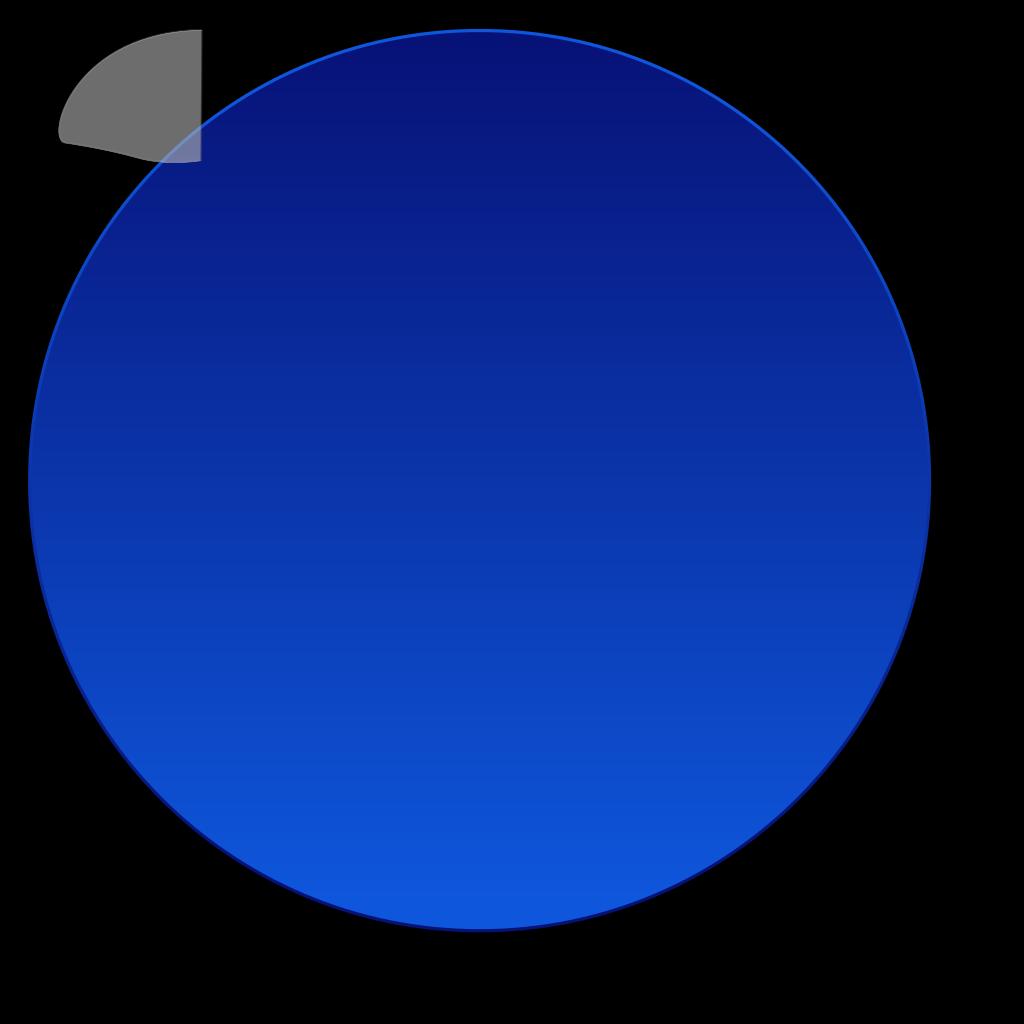 Wiki Blue Button SVG Clip arts