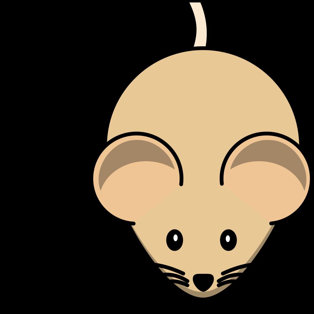 C3h Mouse Short Tail SVG Clip arts