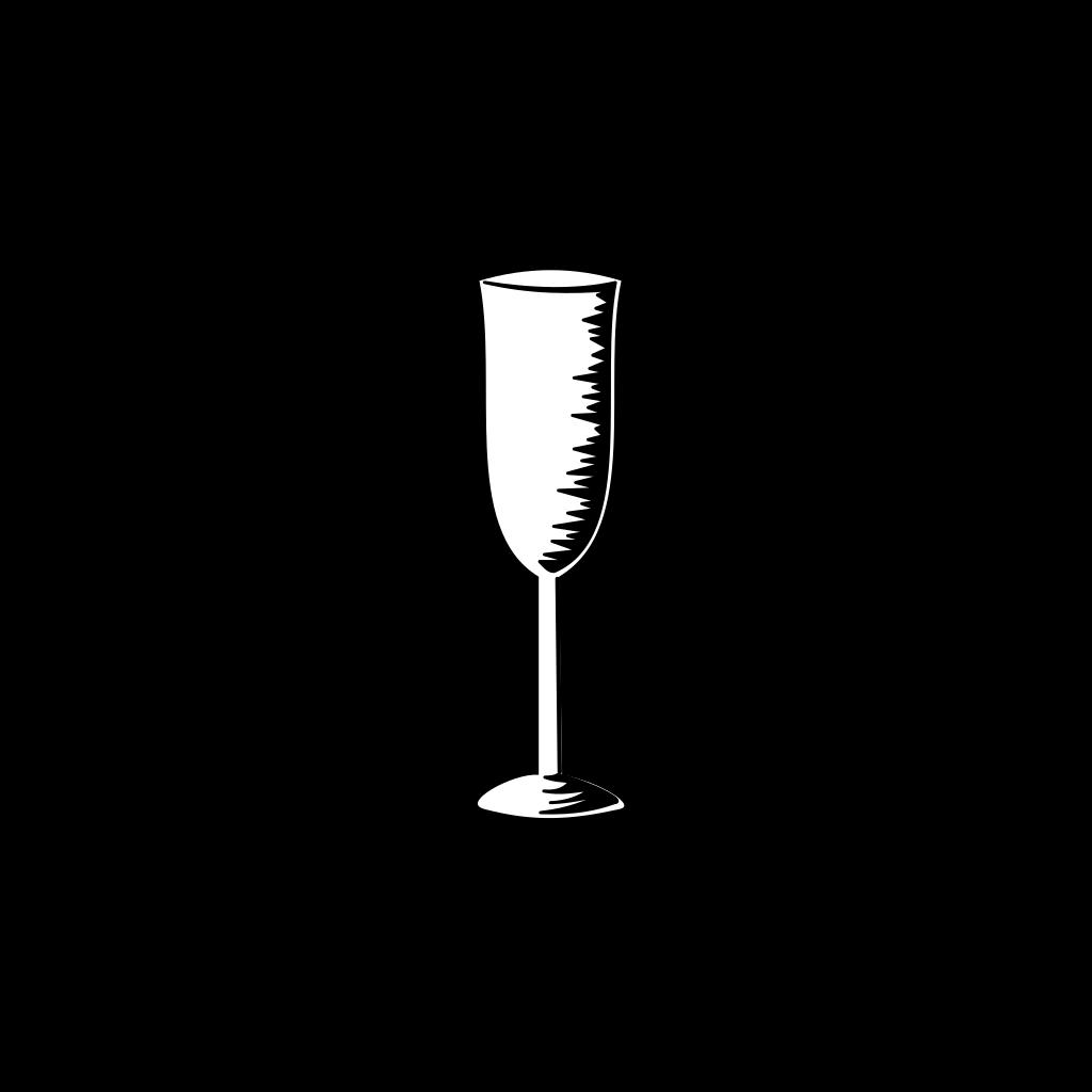 Champagne Glass SVG Clip arts