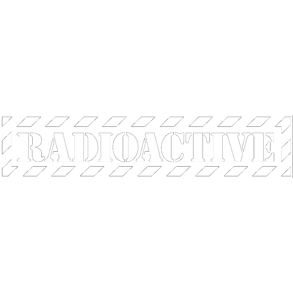 Radioactive Danger Symbol SVG Clip arts