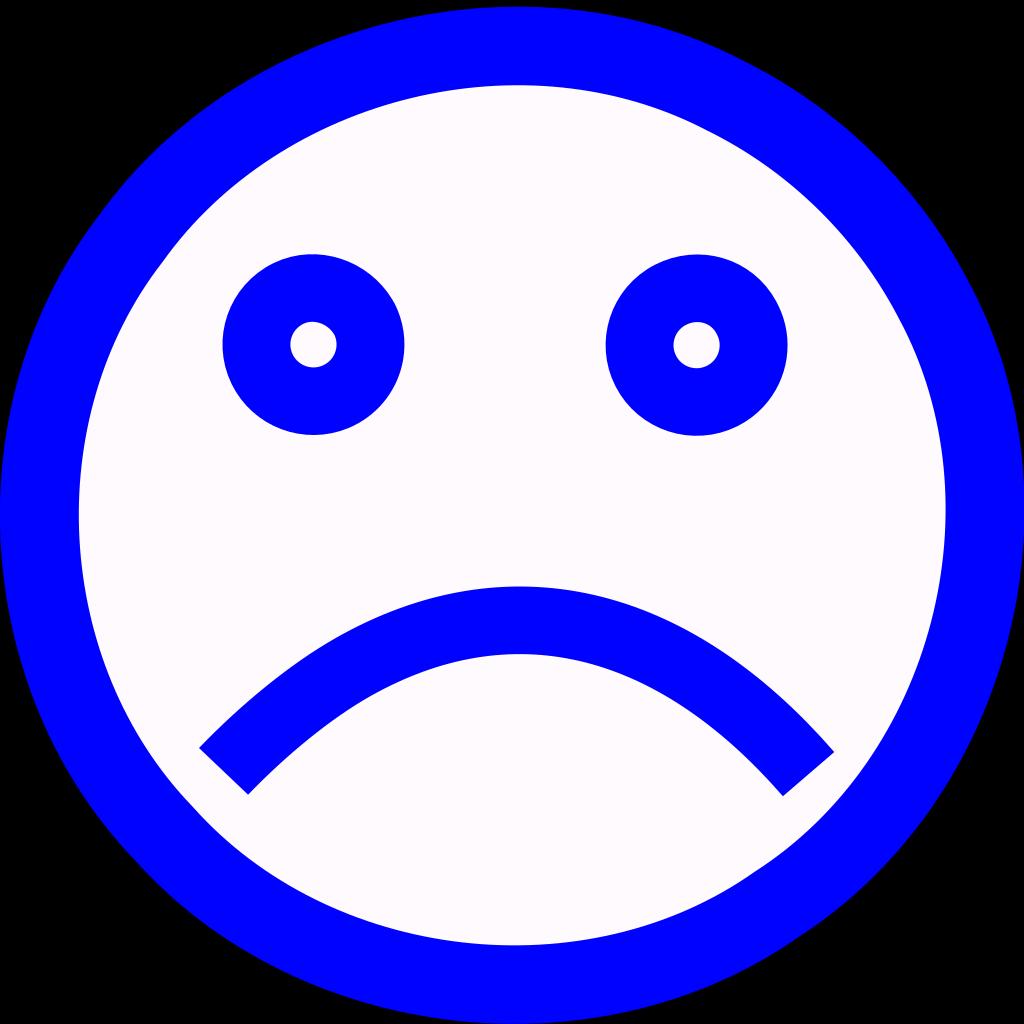Sad Face SVG Clip arts