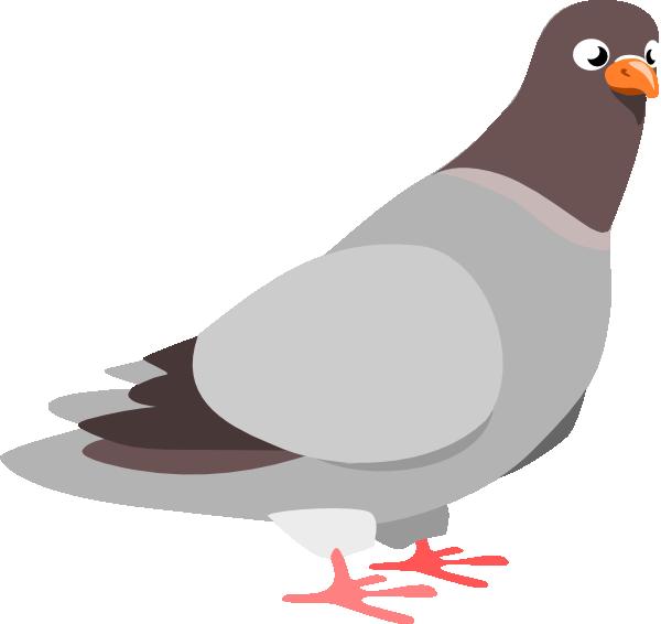 Pigeon SVG Clip arts