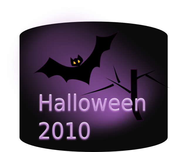 Scary Bat Night SVG Clip arts