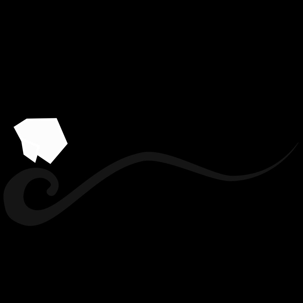 Wave Line Black SVG Clip arts