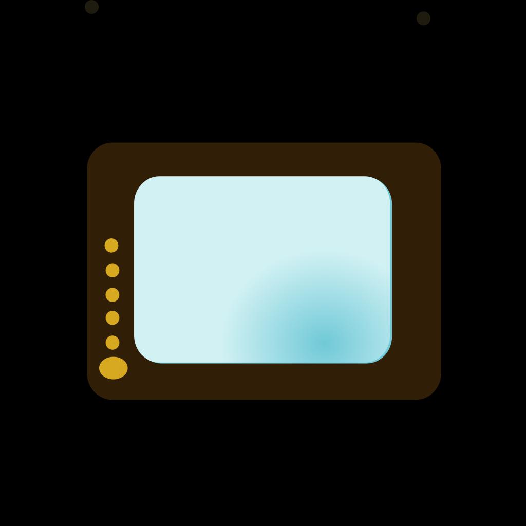 Tv No Remote SVG Clip arts