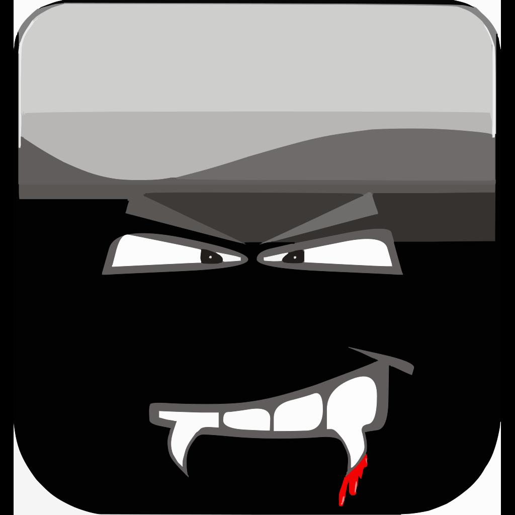 Dracula Button SVG Clip arts