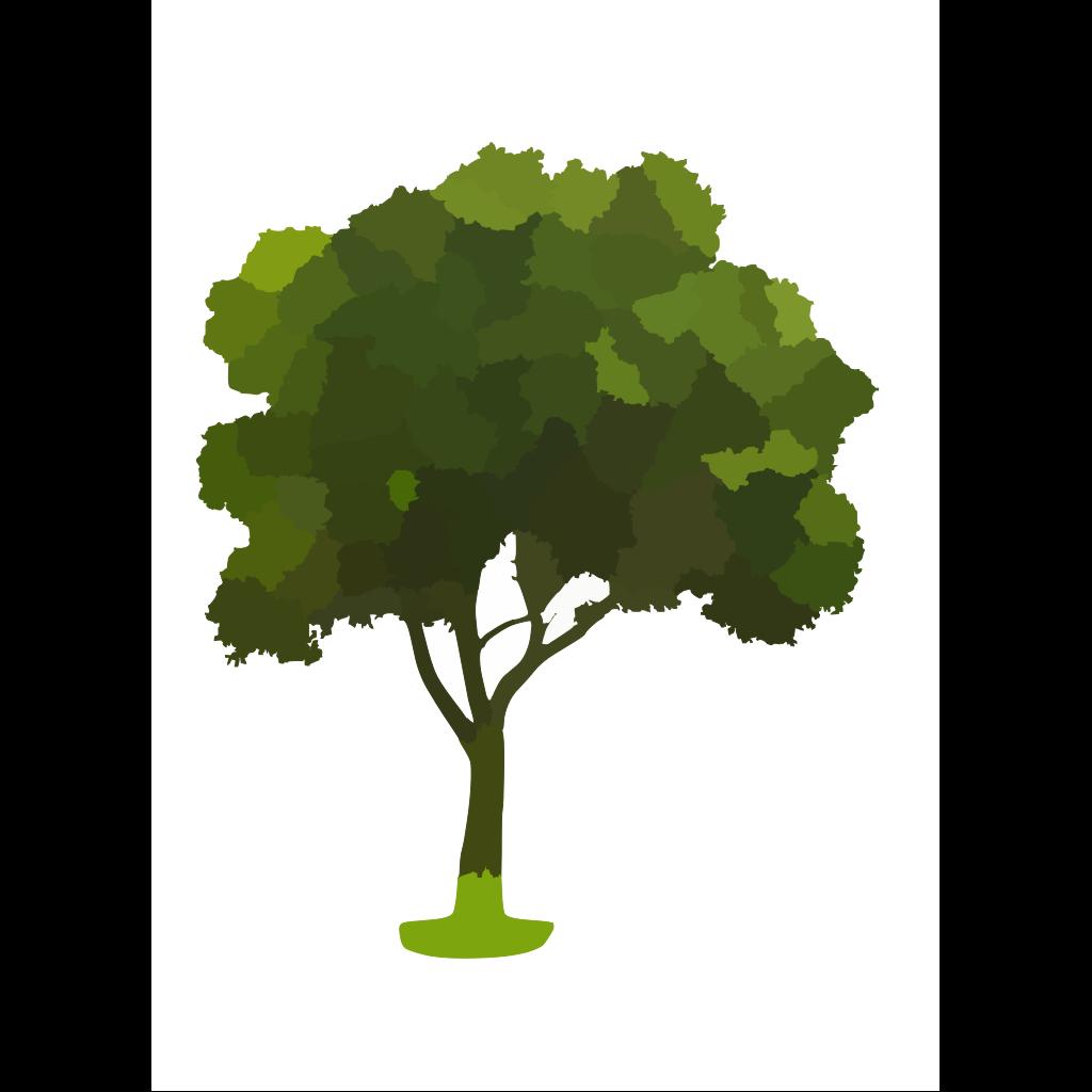 Black Tree SVG Clip arts