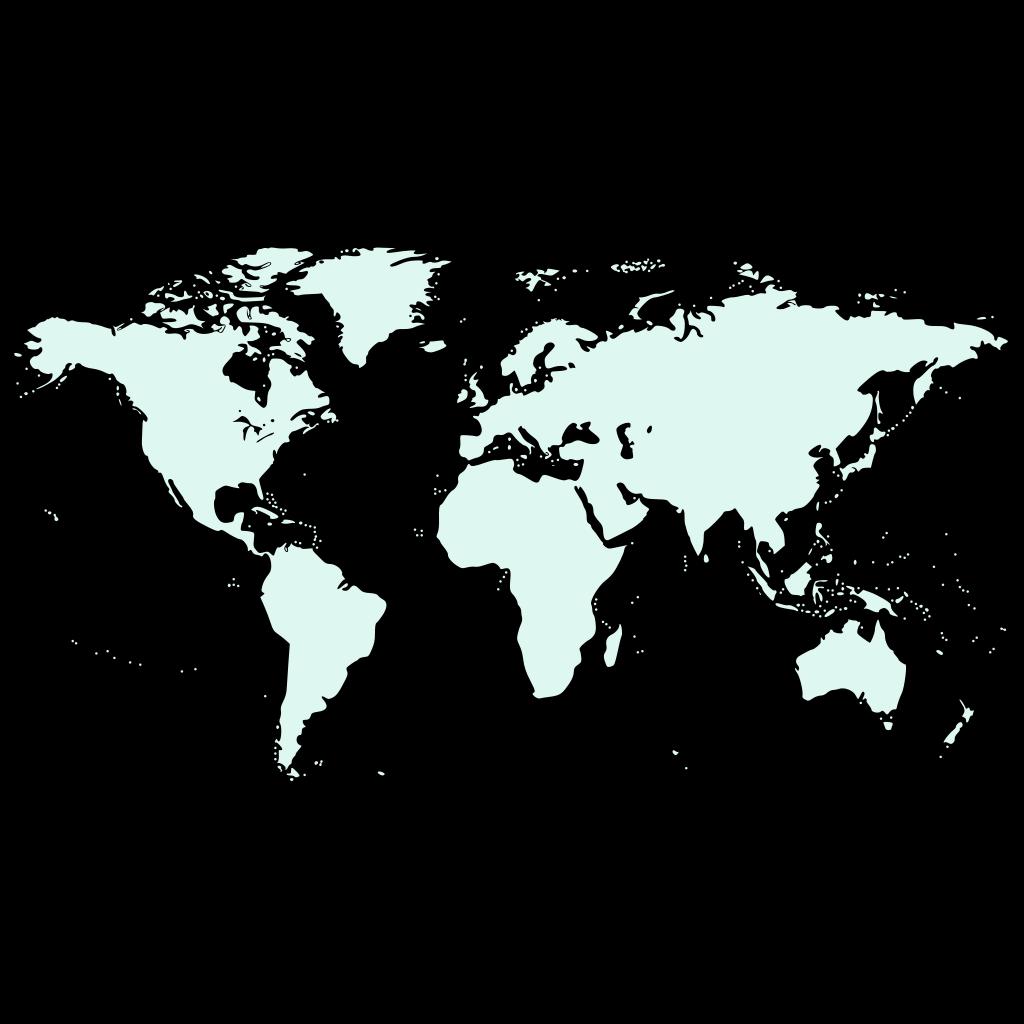 Light Blue Earth SVG Clip arts