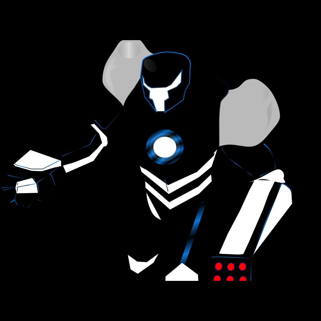 Killer Robot SVG Clip arts