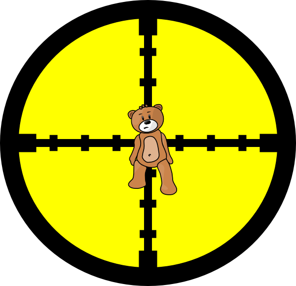 Stuffed Teddy Bear SVG Clip arts