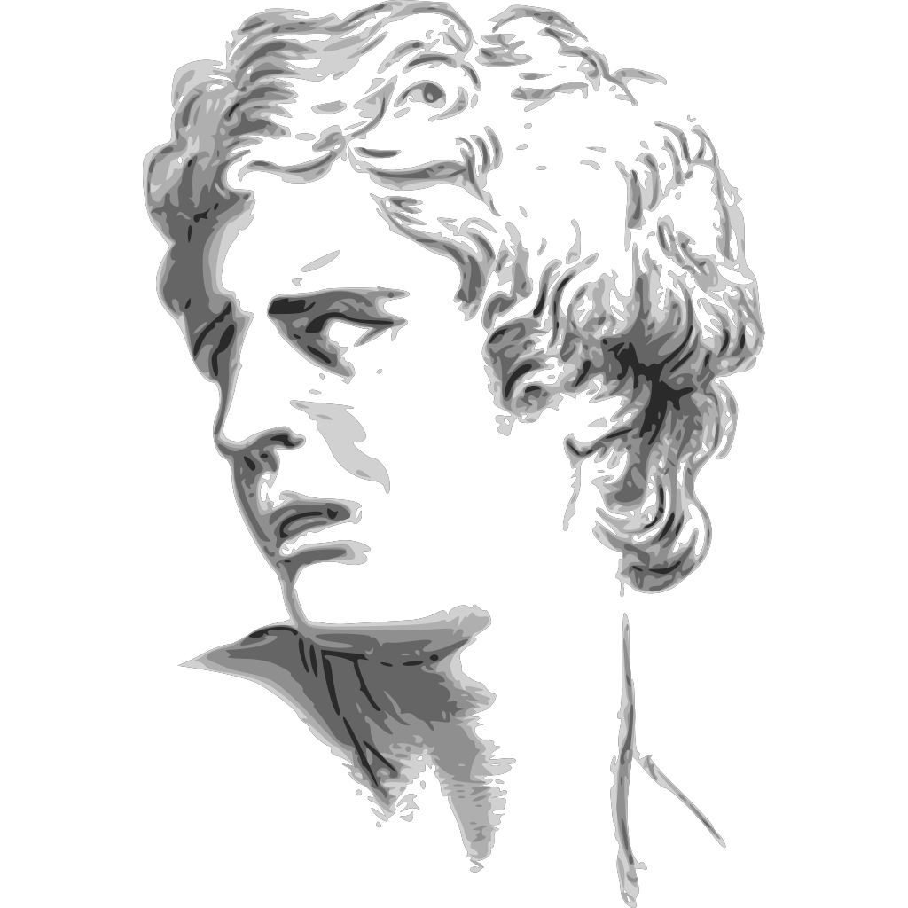 Man Side Face SVG Clip arts