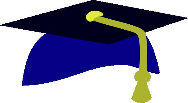 Blue Graduation Cap4 SVG Clip arts