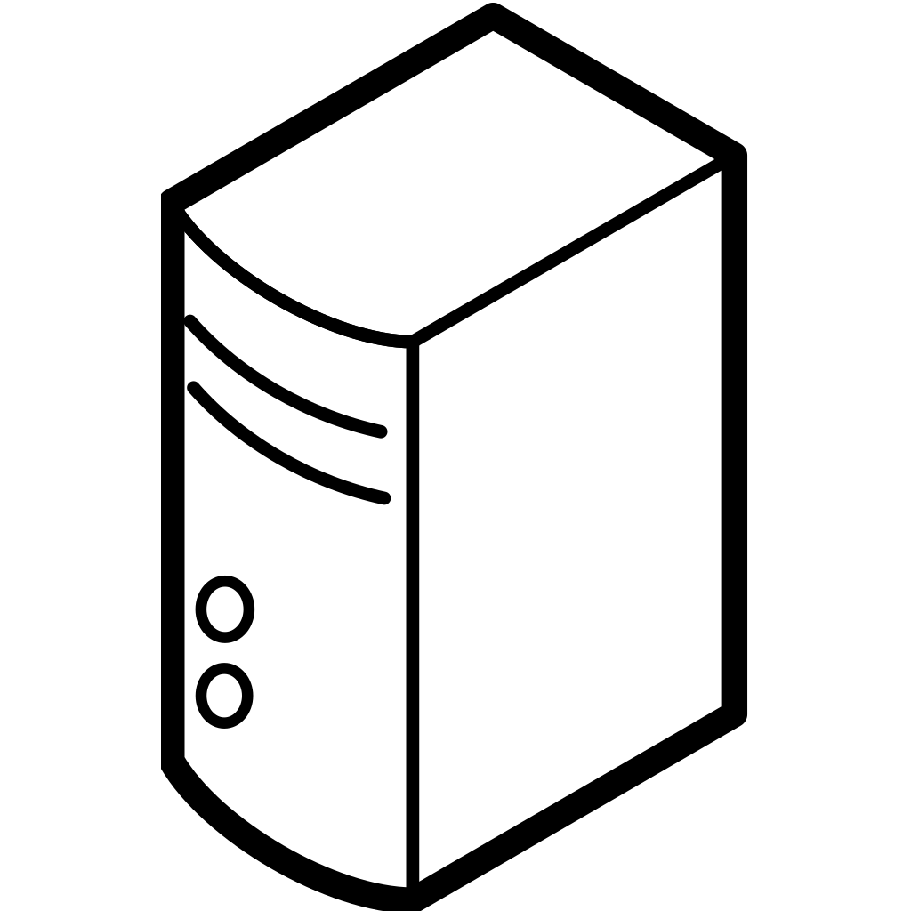 Server SVG Clip arts