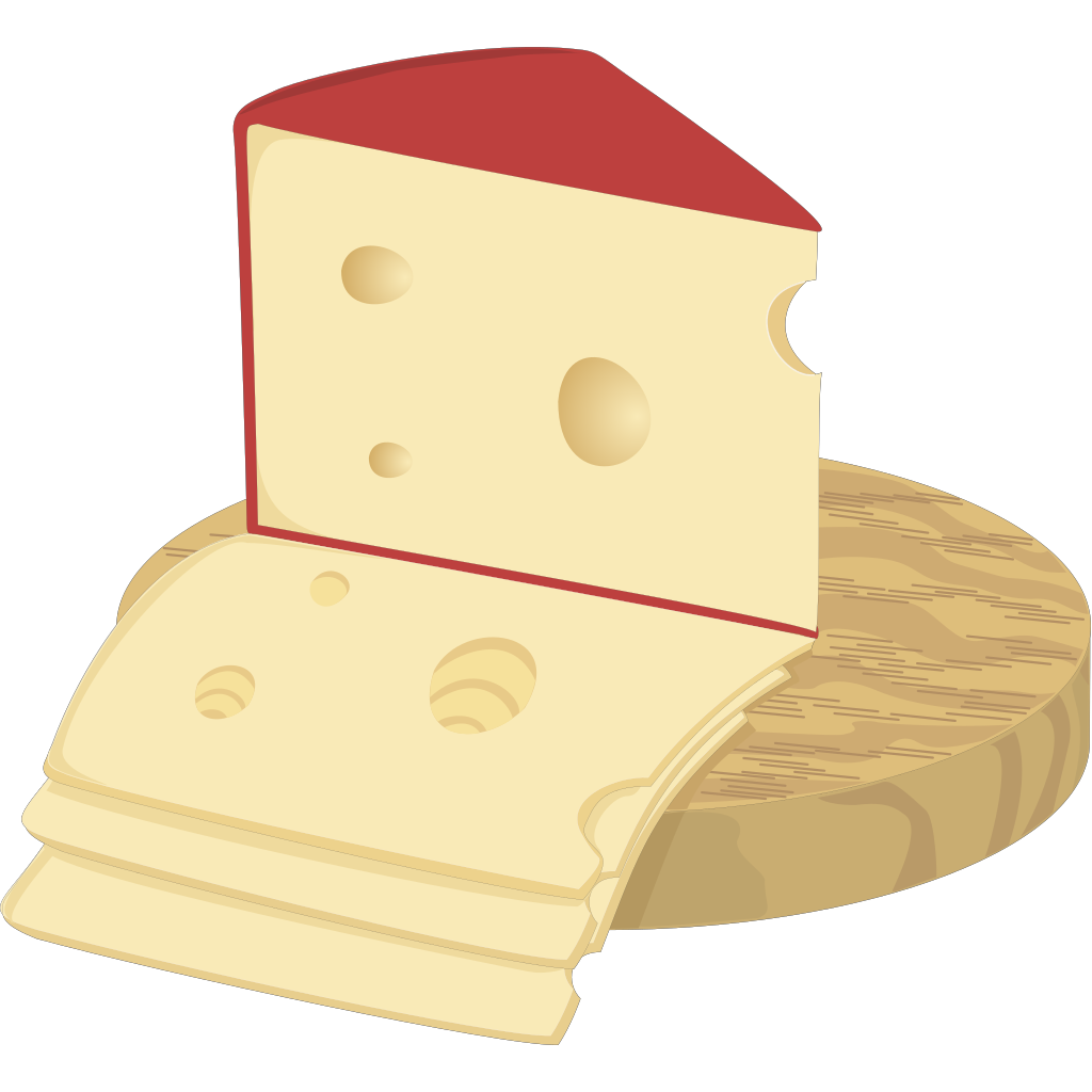 Swiss Cheese SVG Clip arts