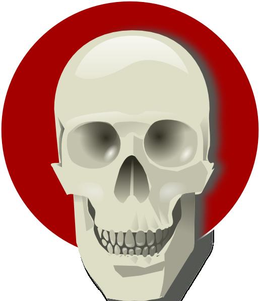 Tatoo Skull SVG Clip arts