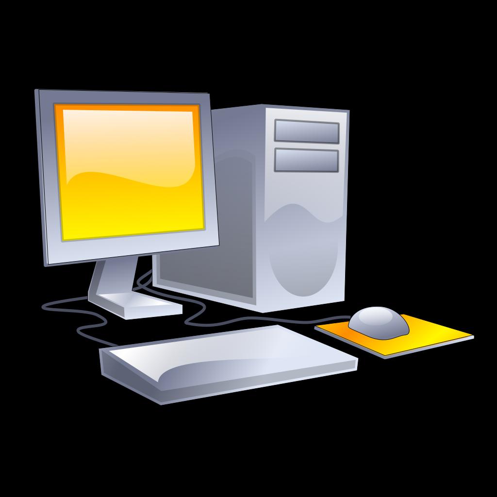 Computer 7 SVG Clip arts