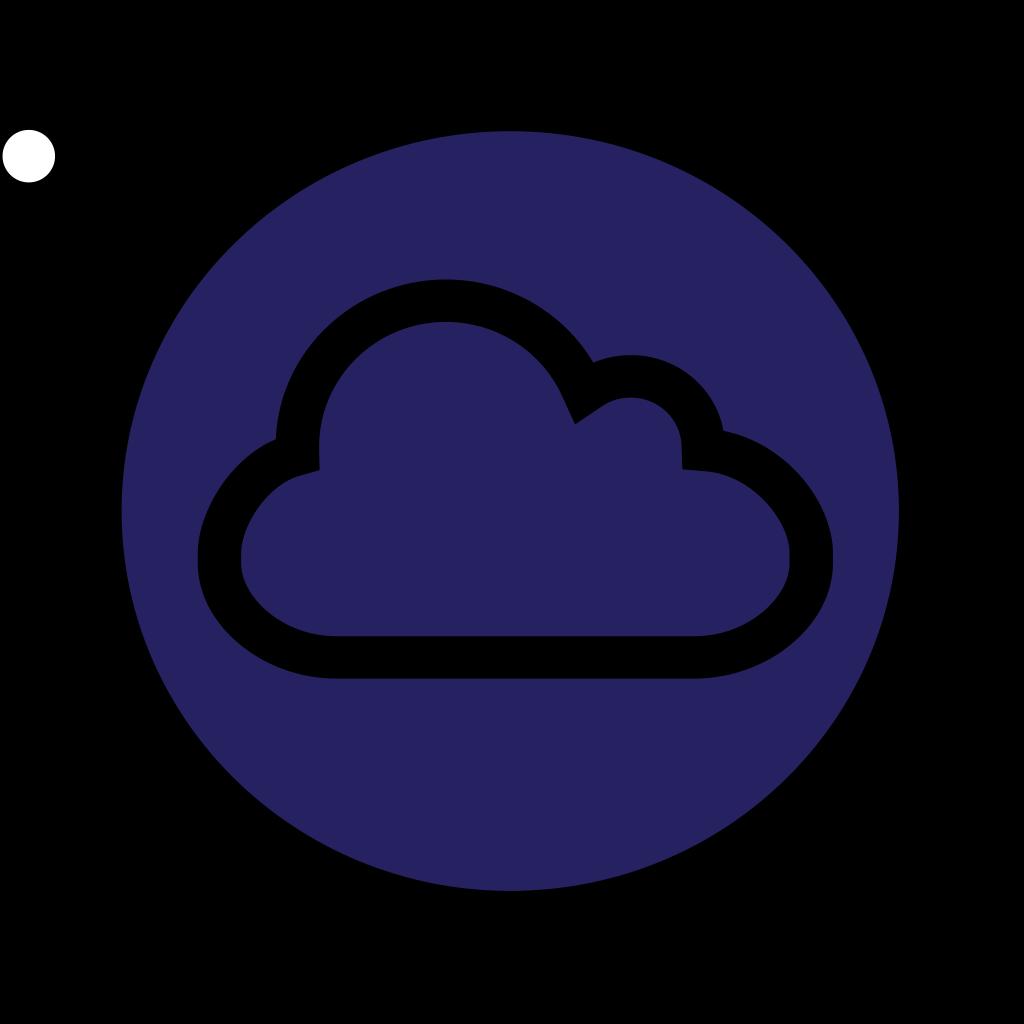Little Angel Reading On A Cloud SVG Clip arts