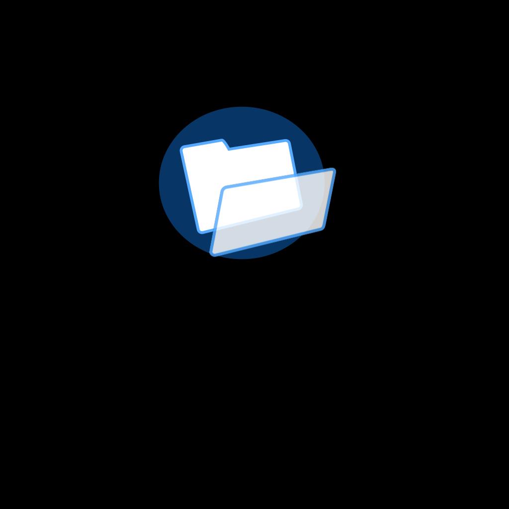 Light Blue File SVG Clip arts
