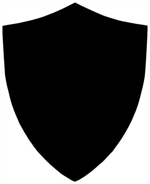 Black Shield SVG Clip arts