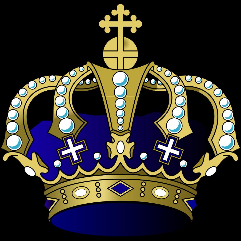 Royal Blue Cross svg
