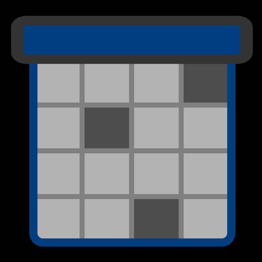 Calendar Design Png : Calendar gray png svg clip art for web download