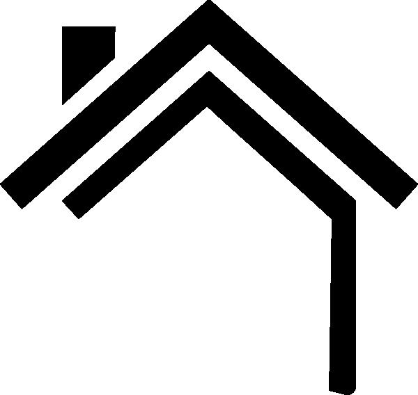 House Silhouette SVG Clip arts