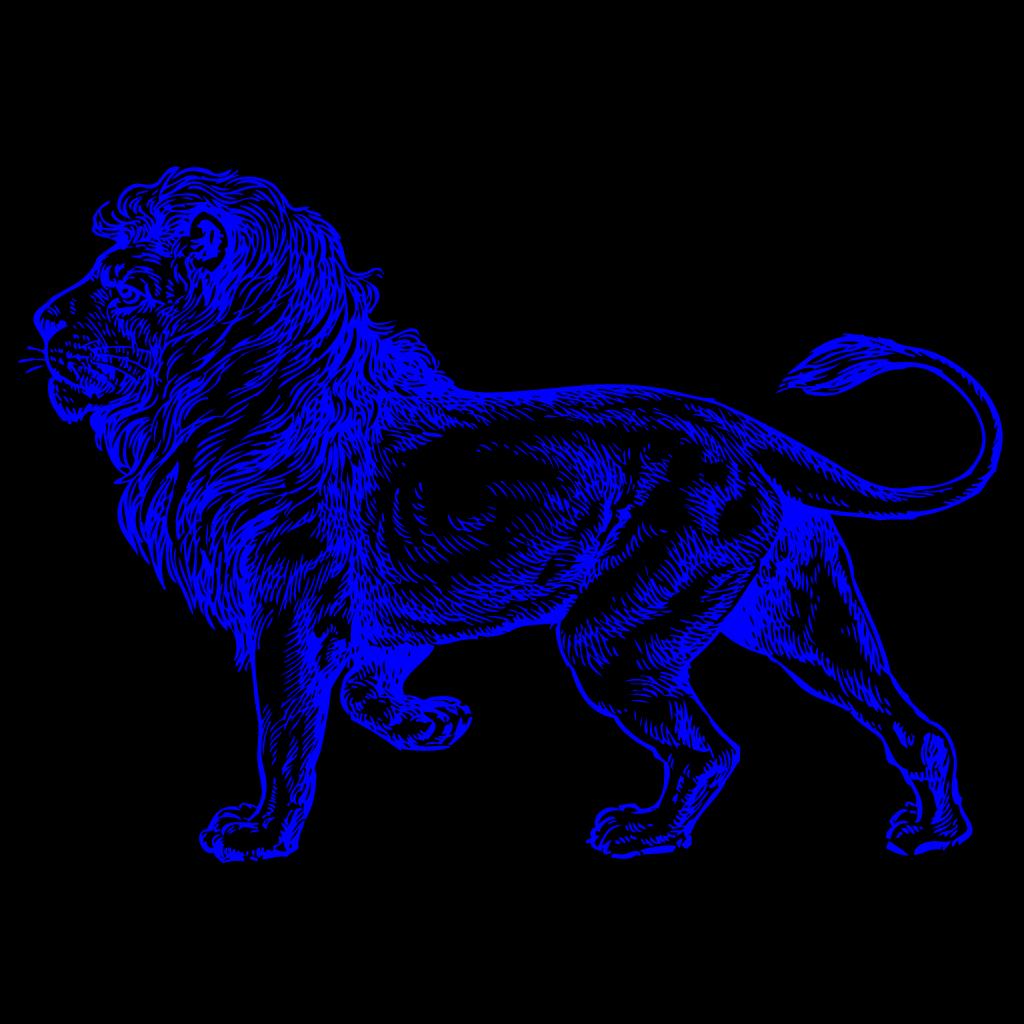 Lion SVG Clip arts