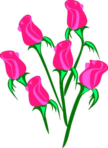 Roses Border SVG Clip arts