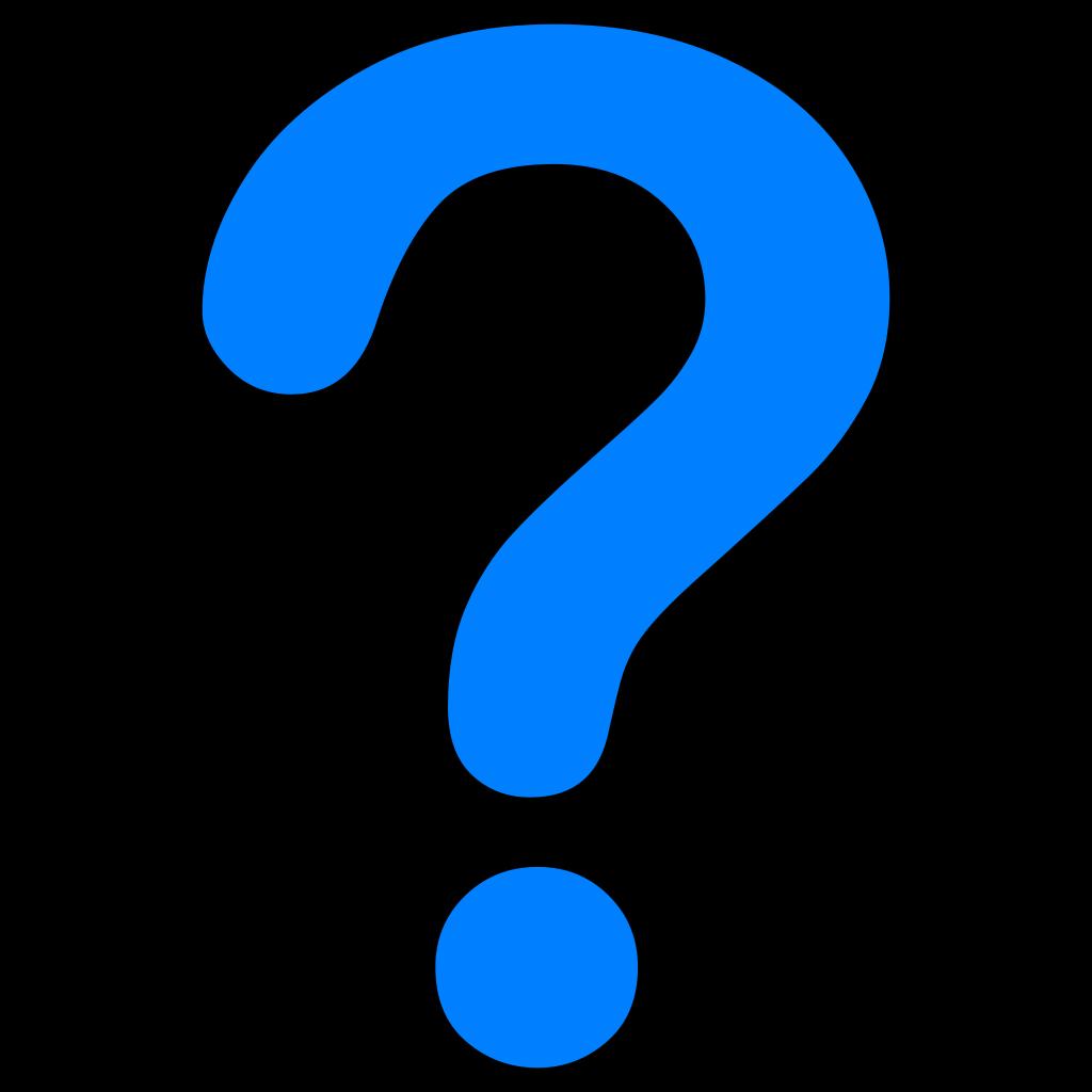 Question SVG Clip arts