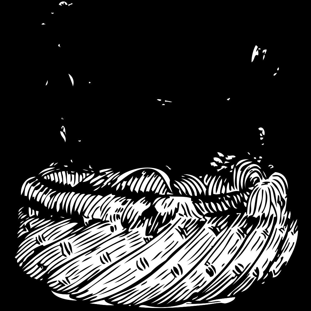 Hen In A Basket SVG Clip arts