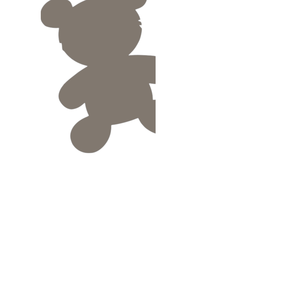 white teddy bear clip art - photo #42
