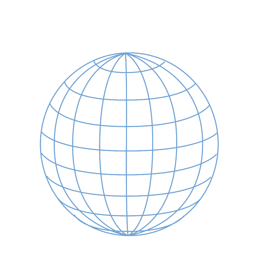 Big Blue Wire Globe SVG Clip arts