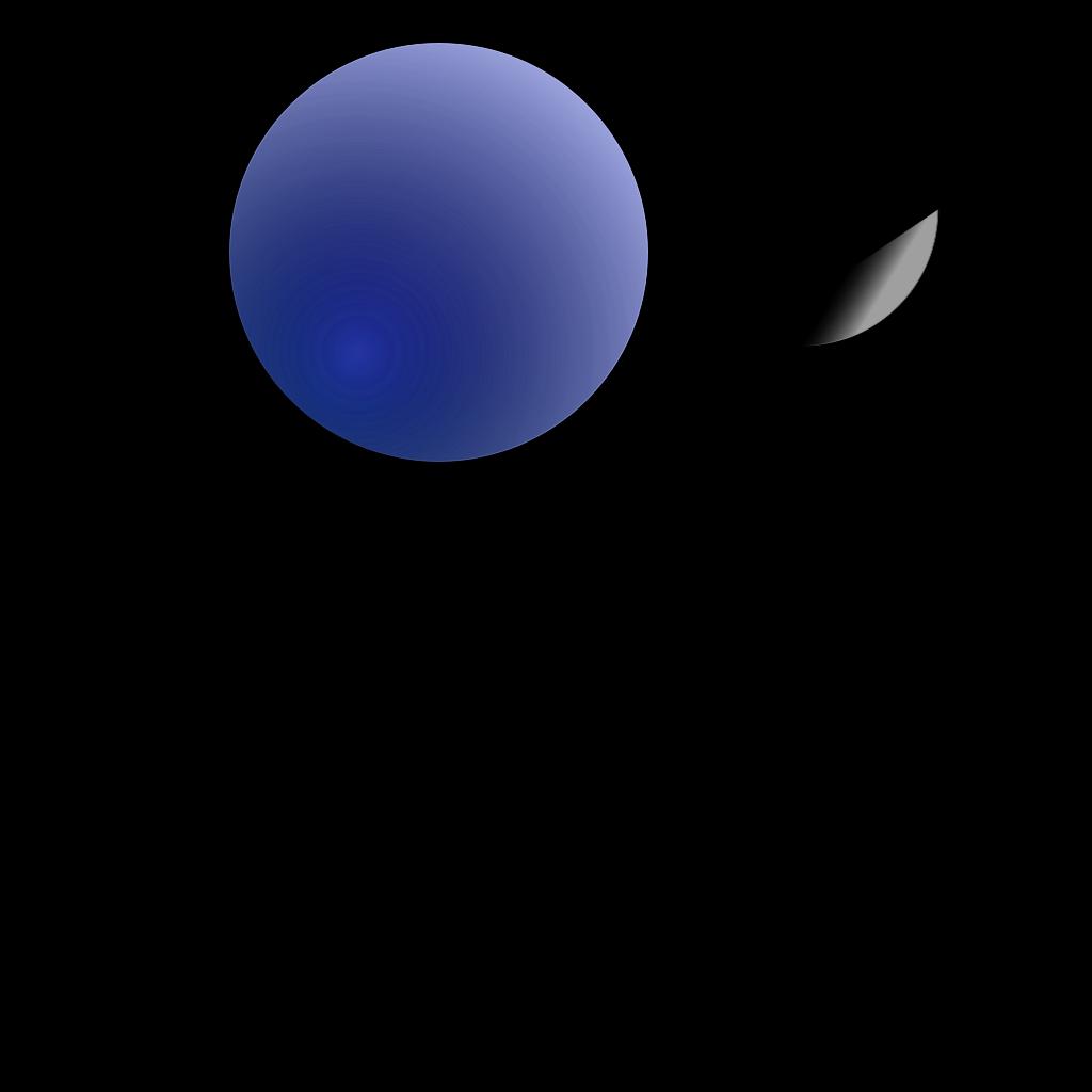 Emmas Blue Balloons SVG Clip arts