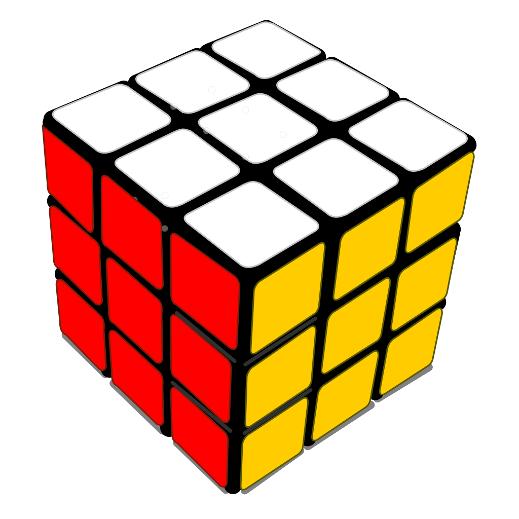 Rubiks Cube 3d SVG Clip arts