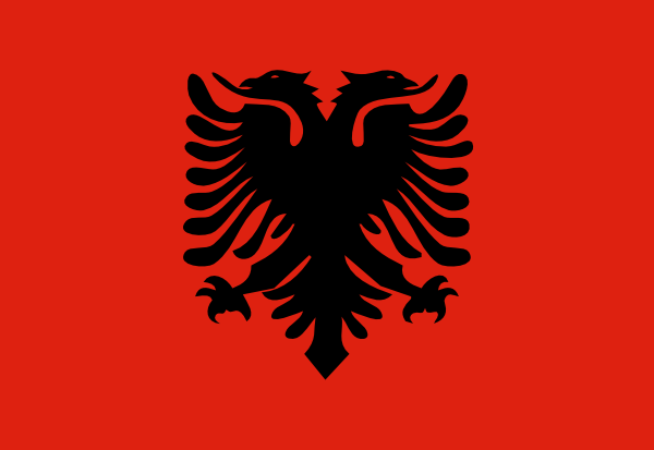Flag Of Albania SVG Clip arts