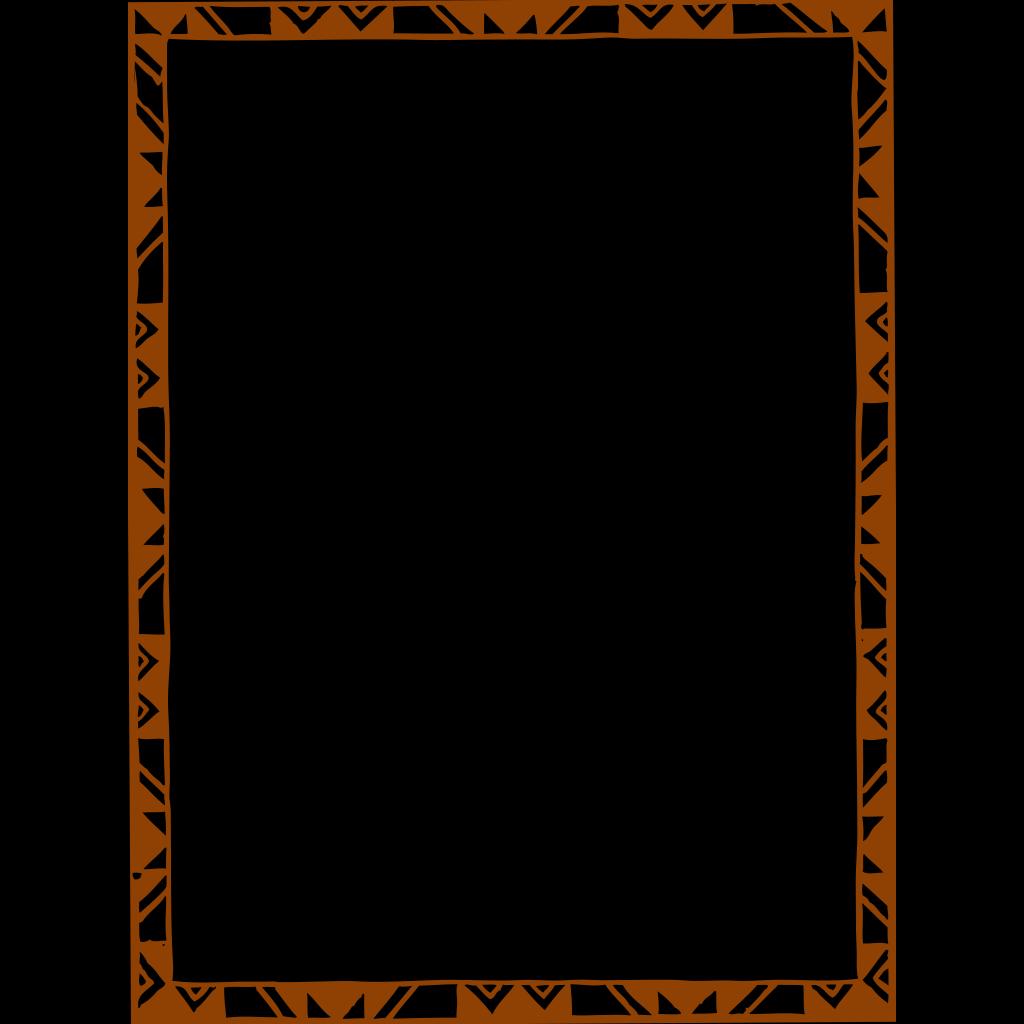 Brown-orange Frame PNG, SVG Clip art for Web - Download Clip Art ...